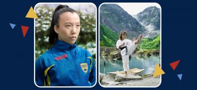 Izabella Tran, BM på ALTEN representerar Sverige i Karate-EM